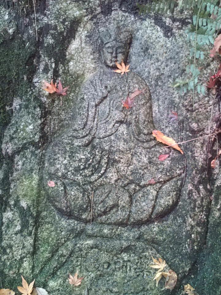 中瀬古道の石仏